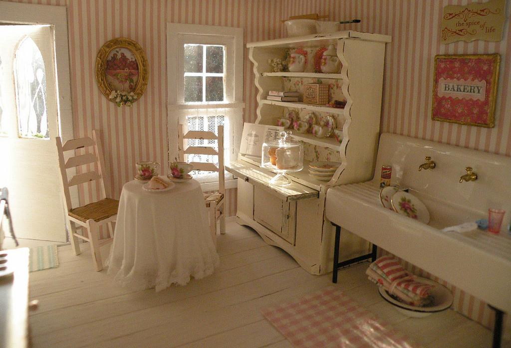 Shabby Chic Vintage Kitchen Cynthiascottagedesign Flickr