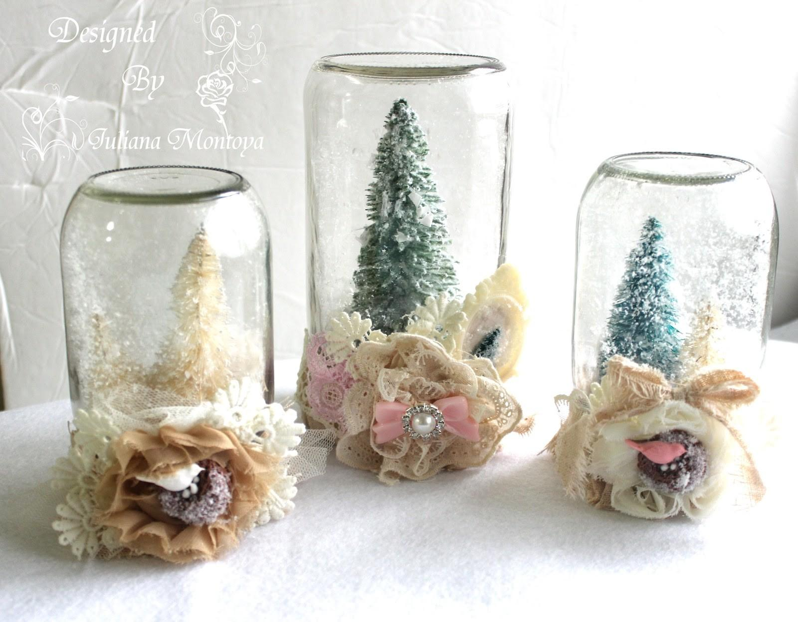Shabbychicjcouture Shabby Chic Waterless Christmas Snow