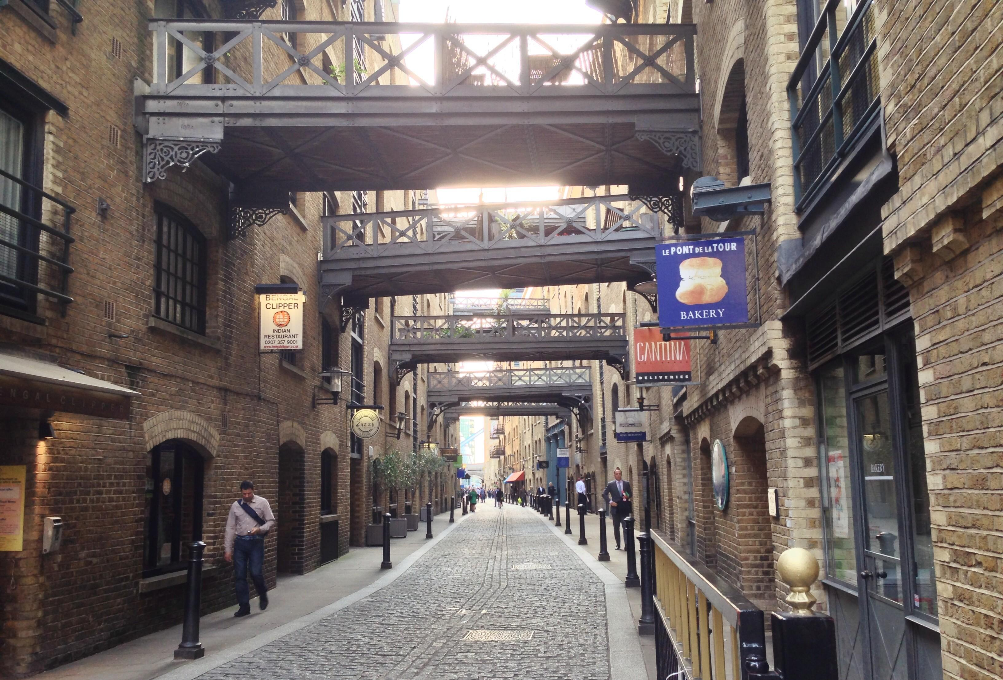 Shad Thames Get Going Running