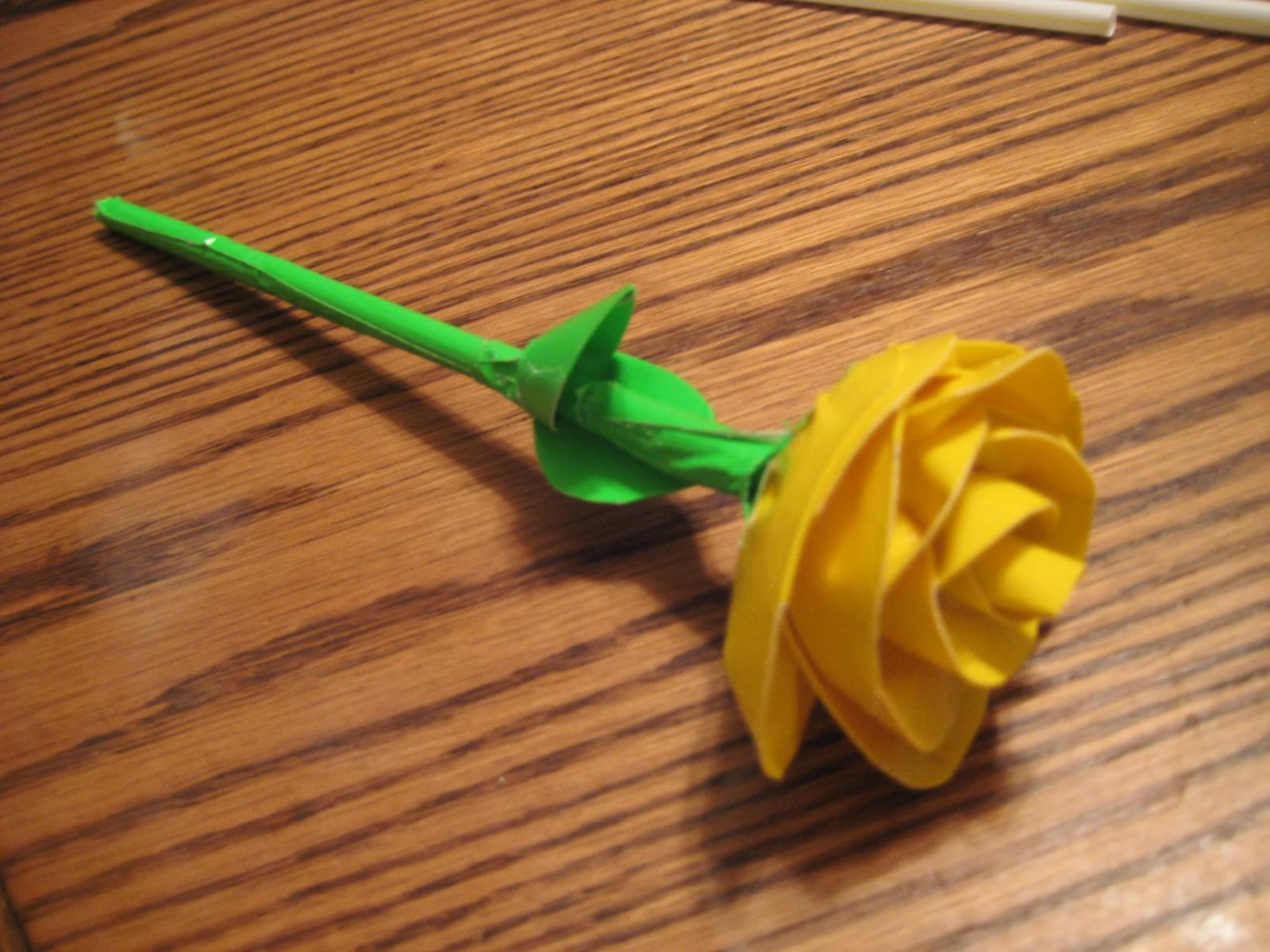 Shade Ashes Easy Duct Tape Roses