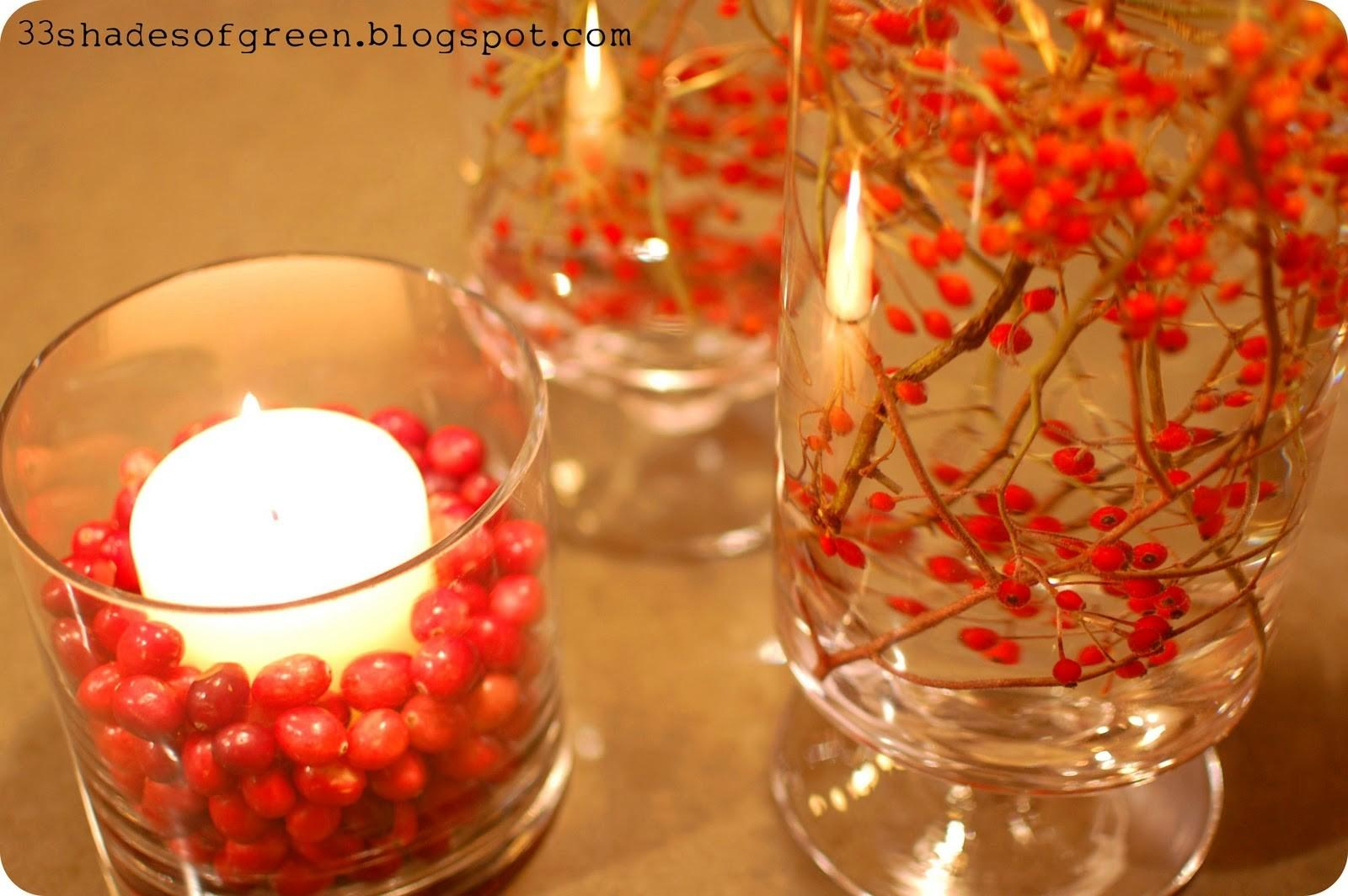 Shades Green Handmade Holidays Easy Centerpiece