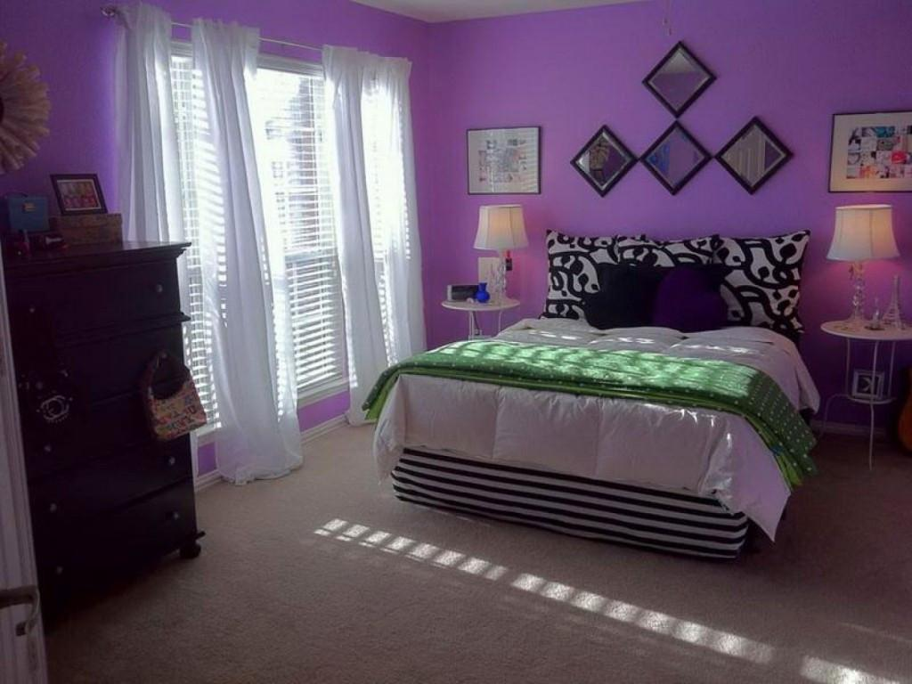 Shades Purple Paint Bedrooms Bedroom Inspiration