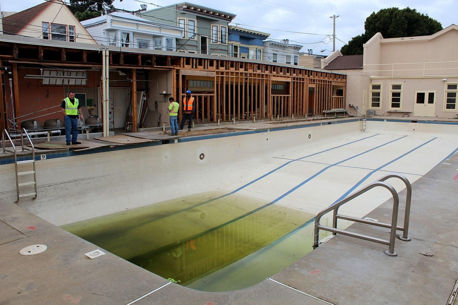 Shaky Ground Delays Mission Pool Opening