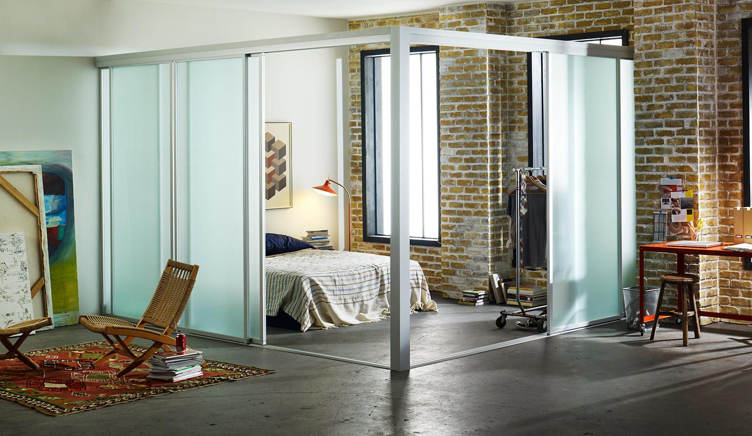 Shaped Glass Room Dividers Lofts Inspirational