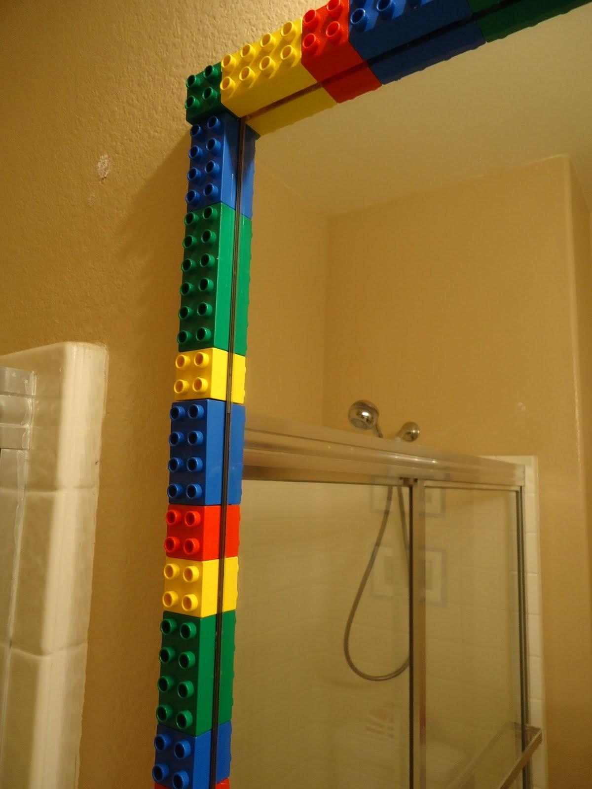 Shaped Grace Lego Bathroom Before After
