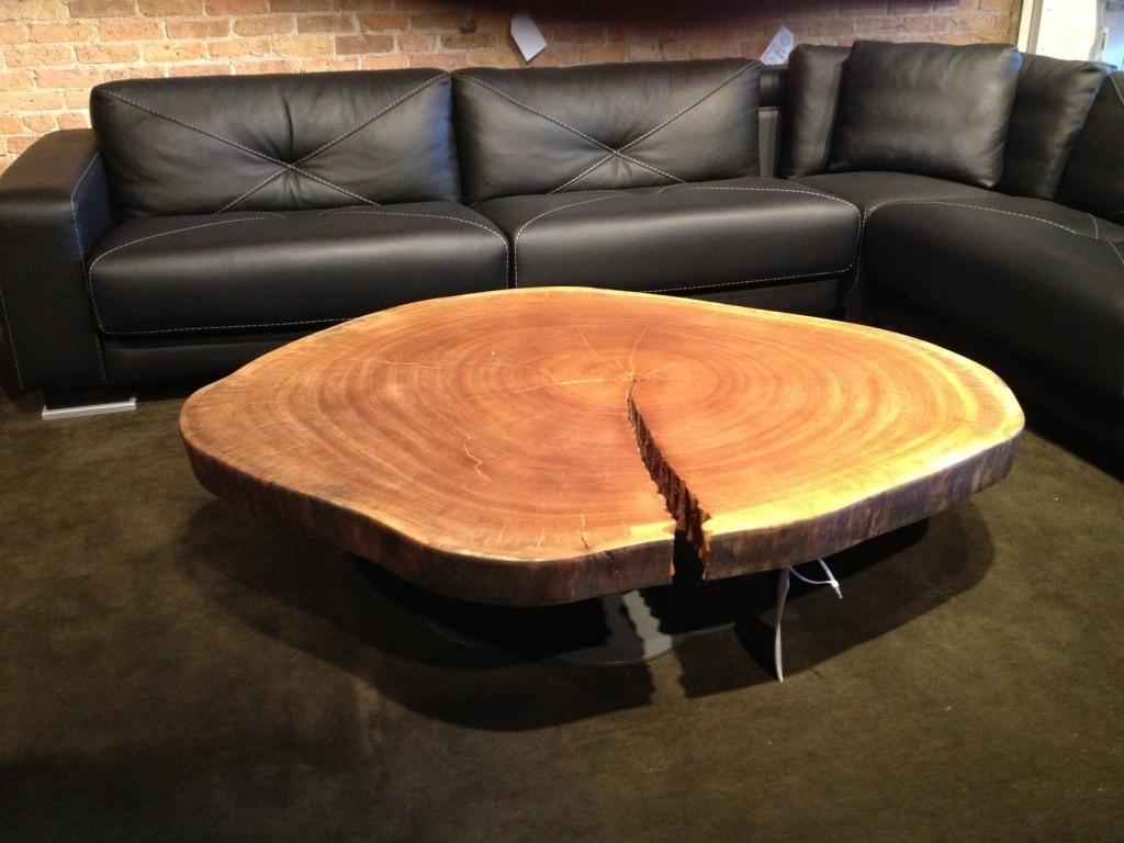 Shapely Square Wood Coffee Table