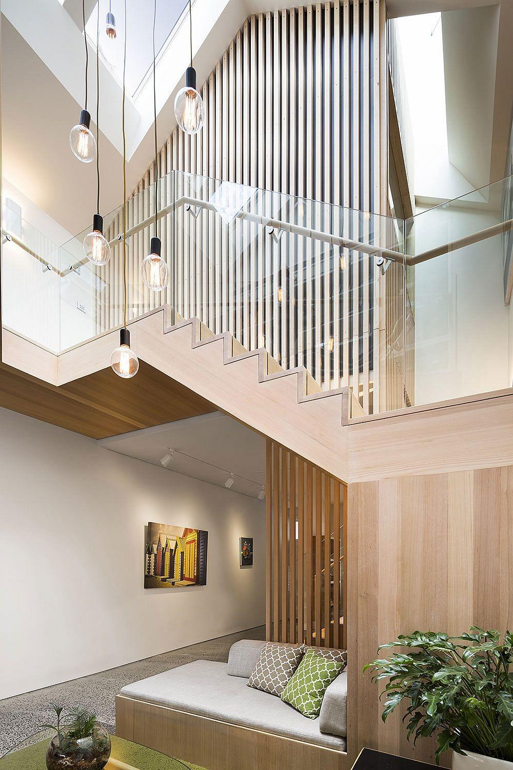 Shaping Your Home Around Sculptural Staircase Posh