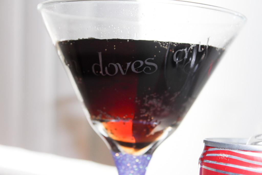 Share Coke Song Diy Glitter Martini