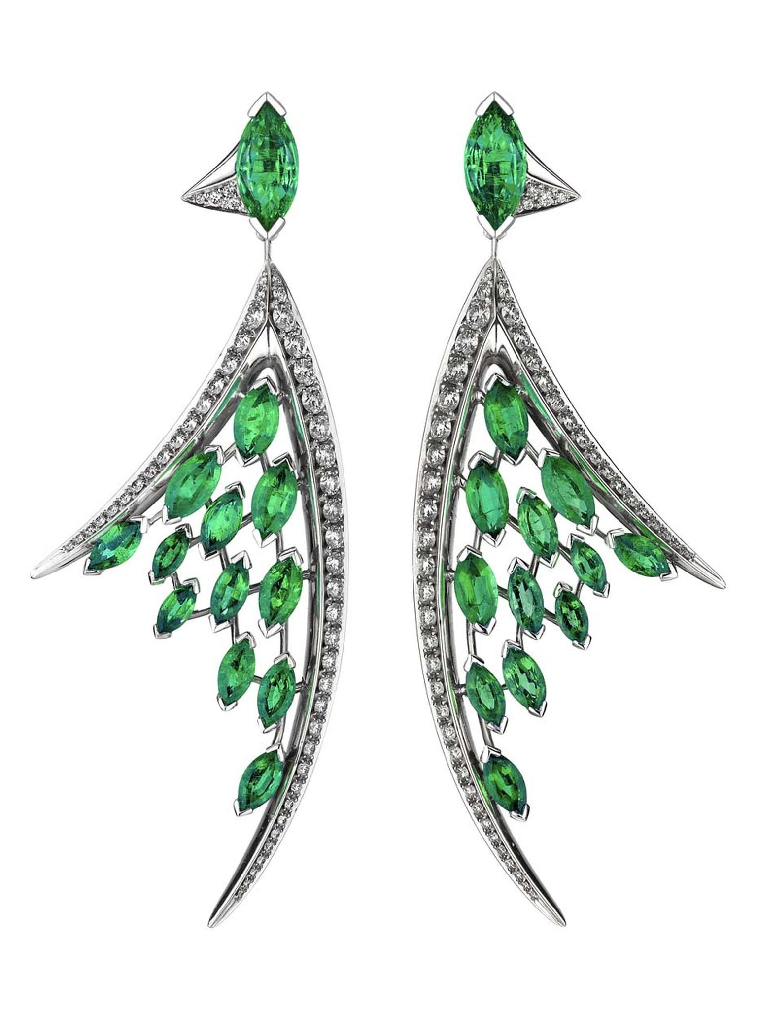 Shaun Leane Jewellery New Emerald Diamond Aerial