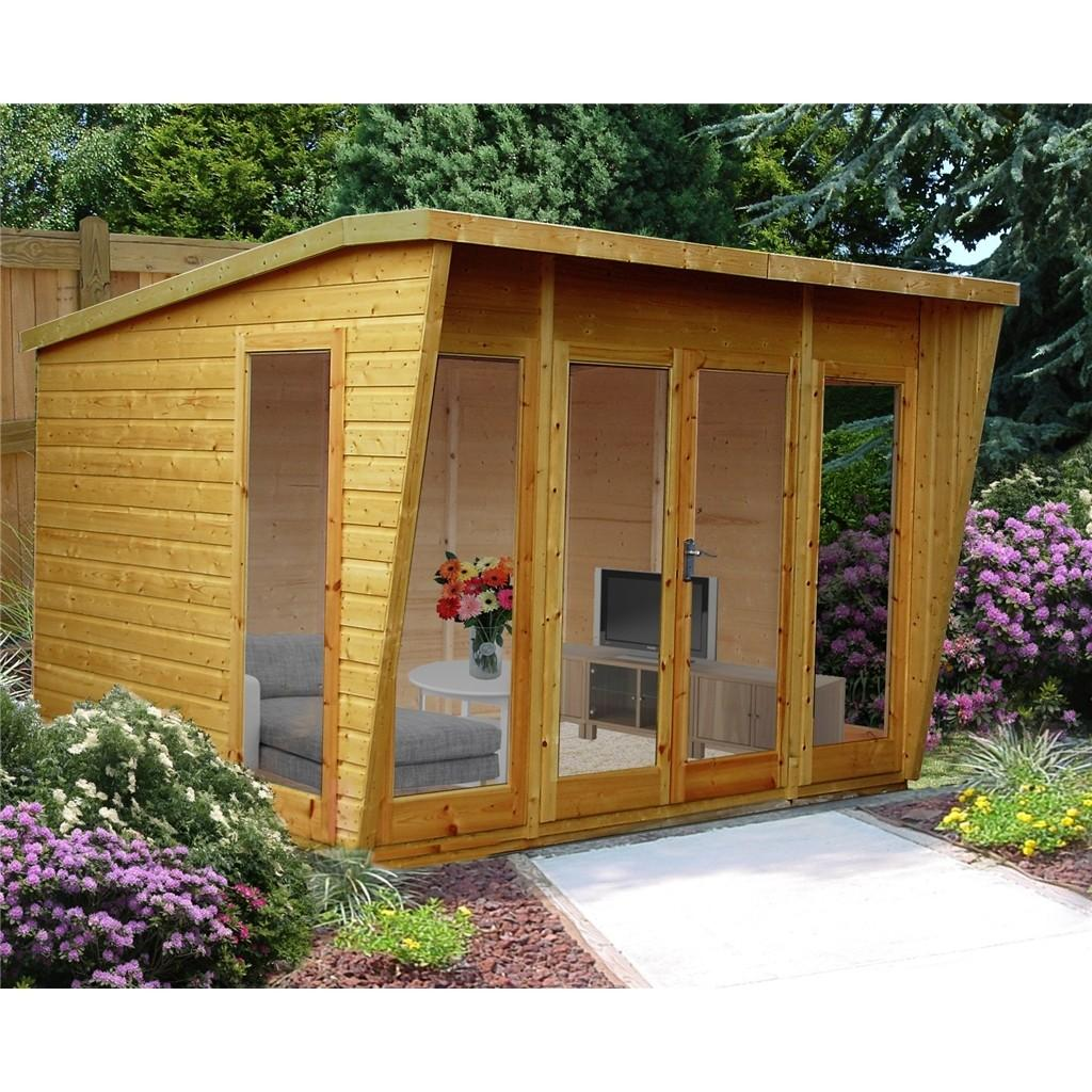 Shedswarehouse Stowe Summerhouses 10ft 8ft