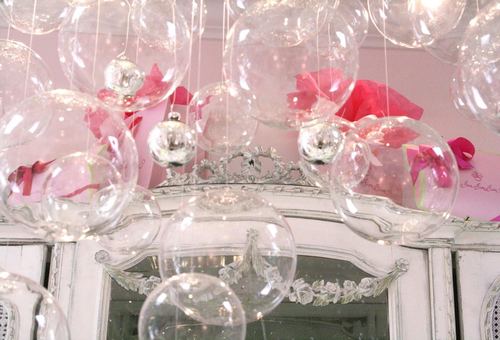 Sheer Serendipity Bubble Chandelier
