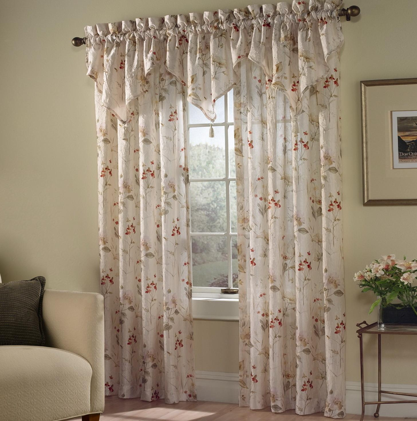 Sheer Swag Curtain Ideas Home Design