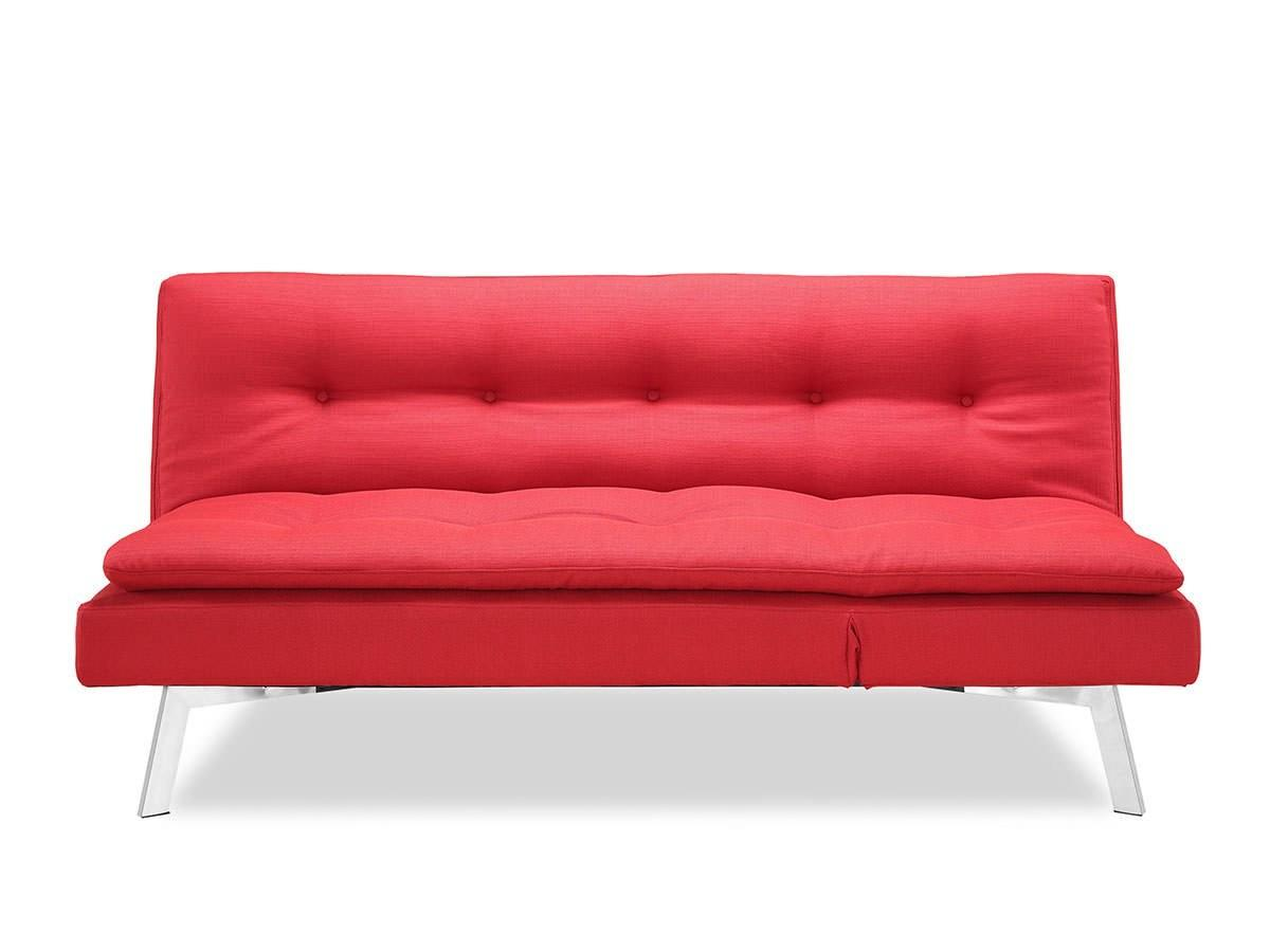 Shelby Convertible Sofa Bed Red Lifestyle Solutions