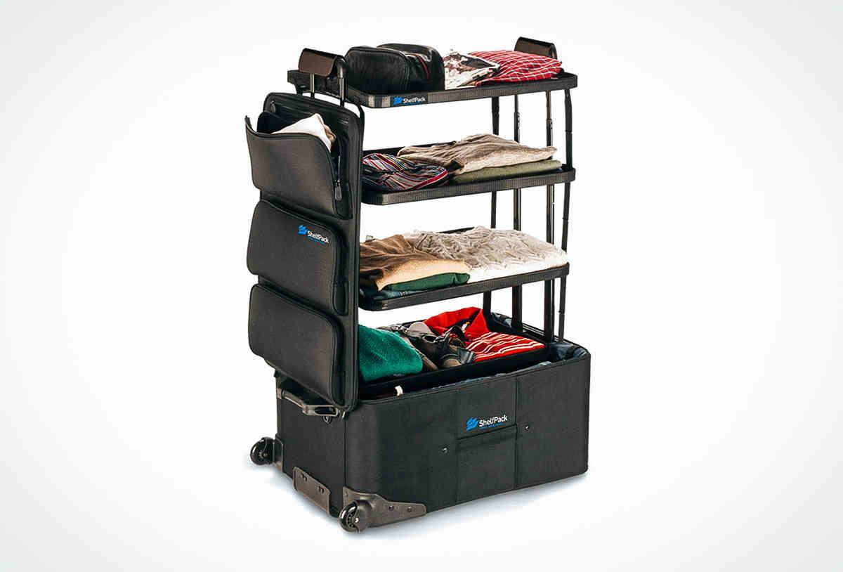 Shelfpack Suitcase Transforms Into Perfect Travel