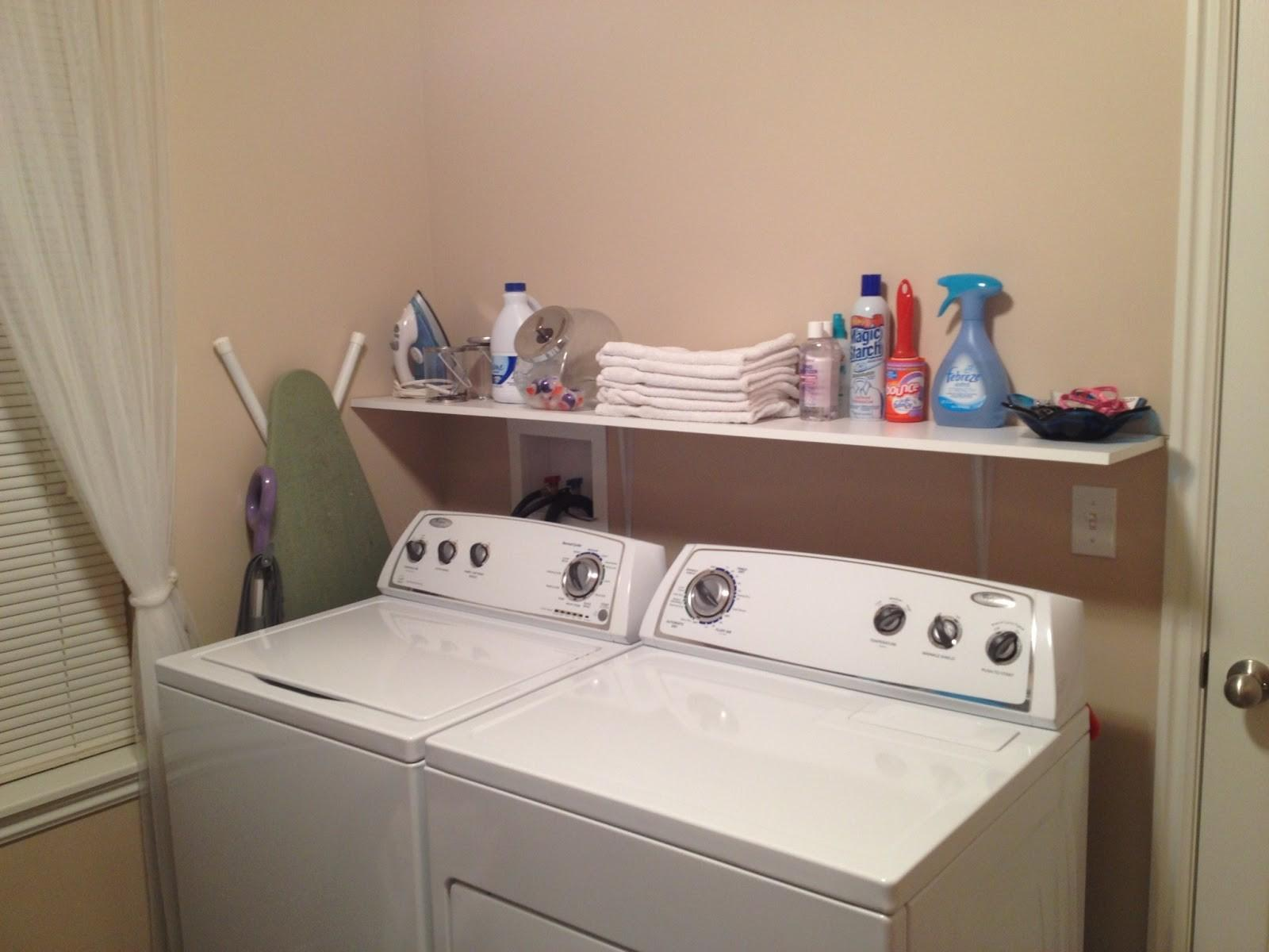 Shelves Laundry Room Comfy Home Design
