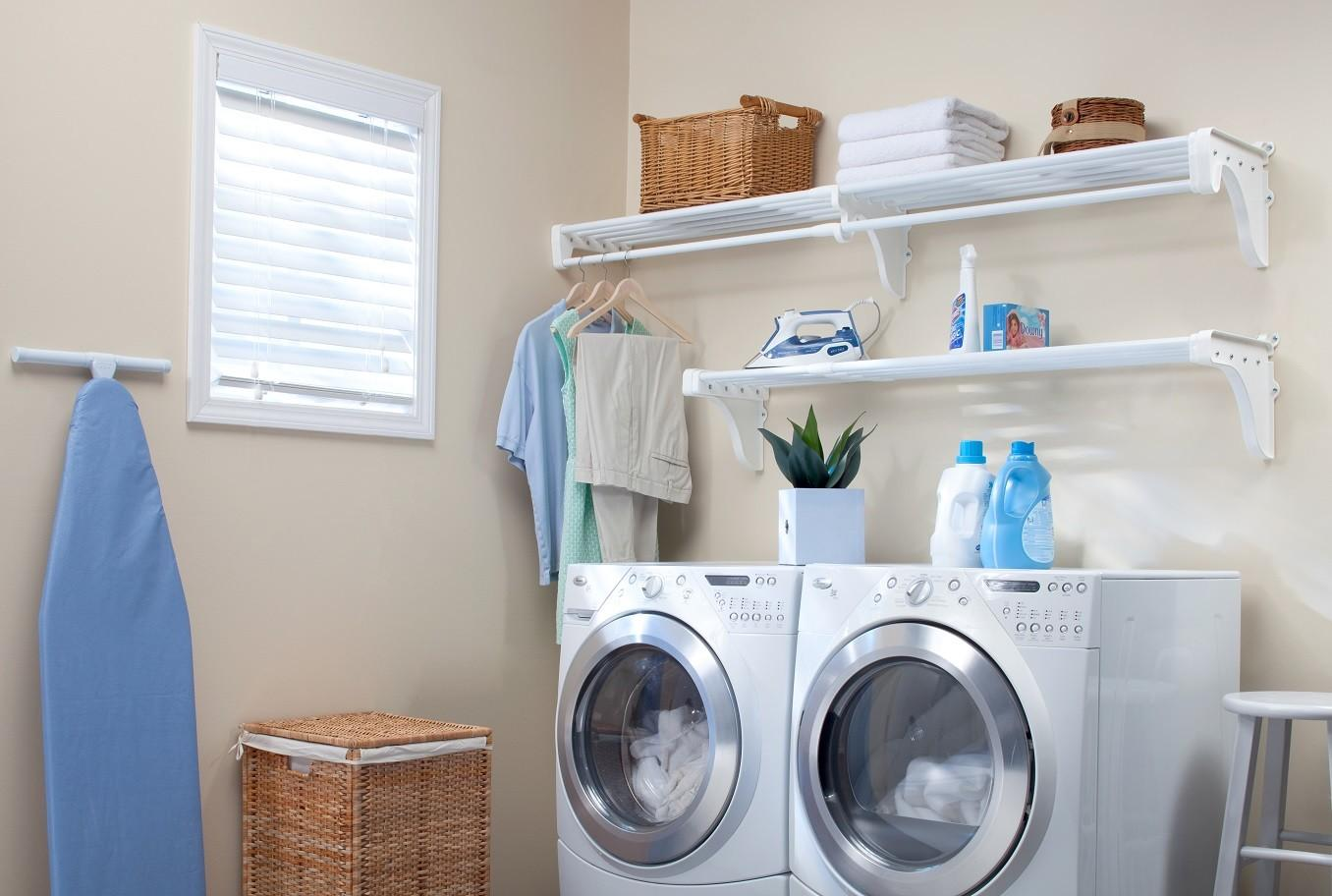 Shelves Laundry Room Preferred Home Design