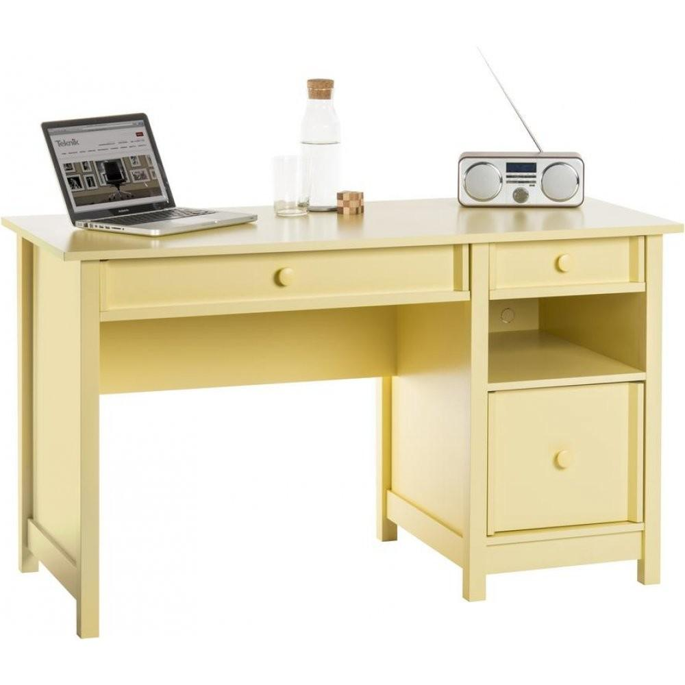 Sherbet Yellow Home Office Desk