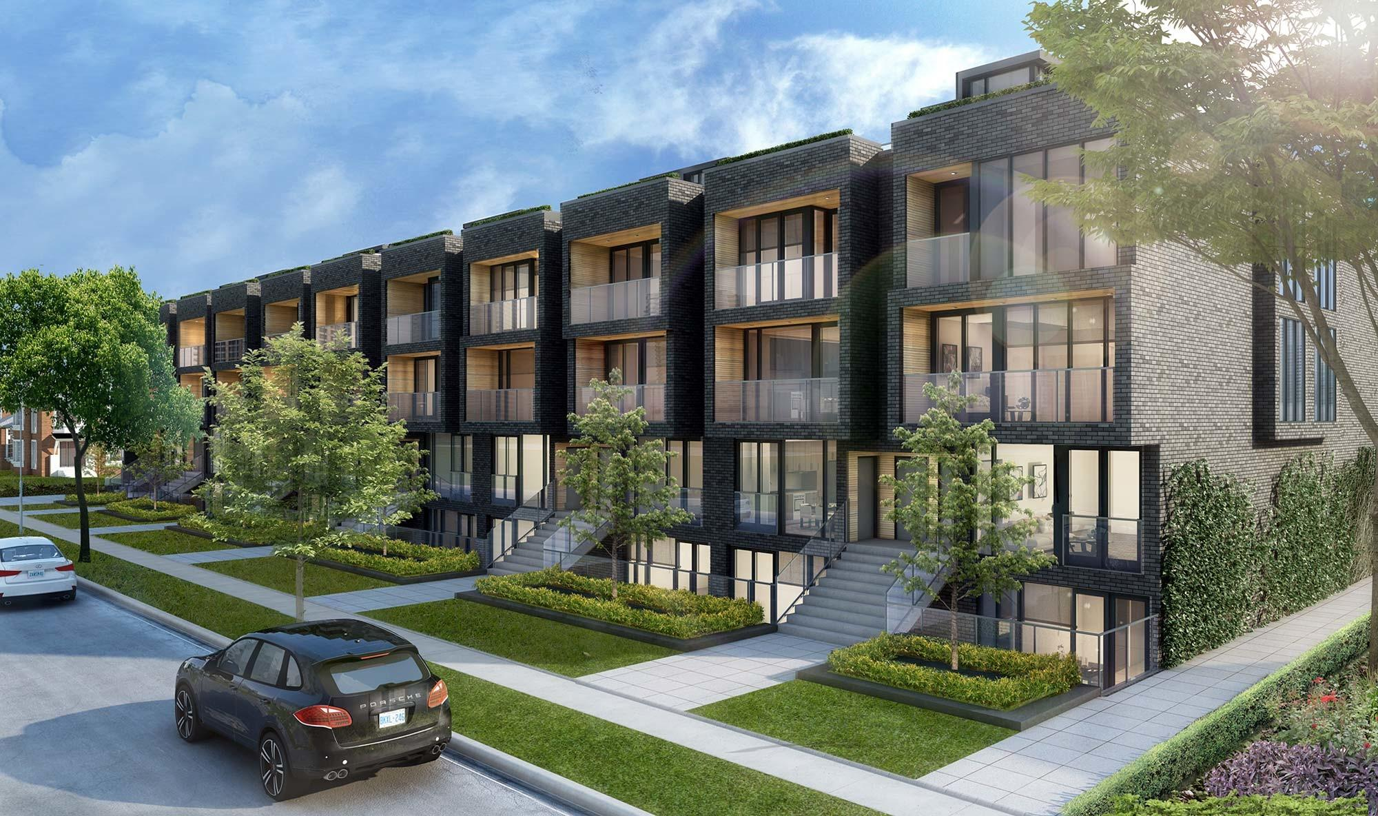 Sherwood Park Modern Townhomes Prices Floorplans