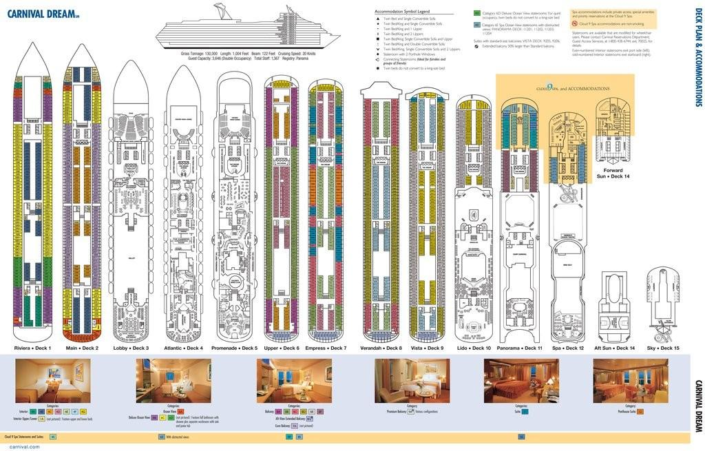 Ship Deck Plan Accommodations Frompo