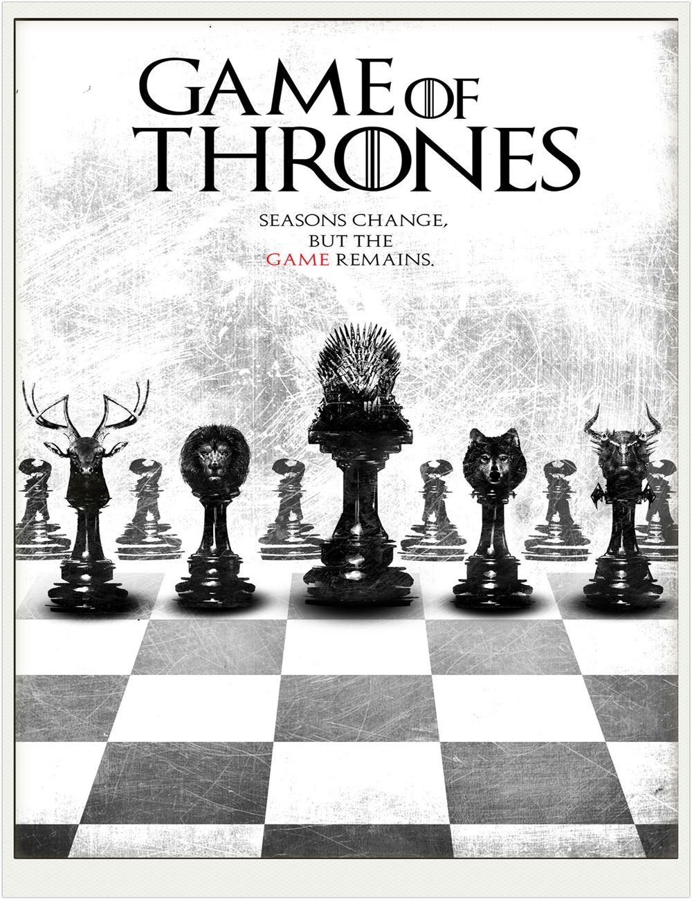 Shipping 2015 Custom Game Thrones Chess Vintage