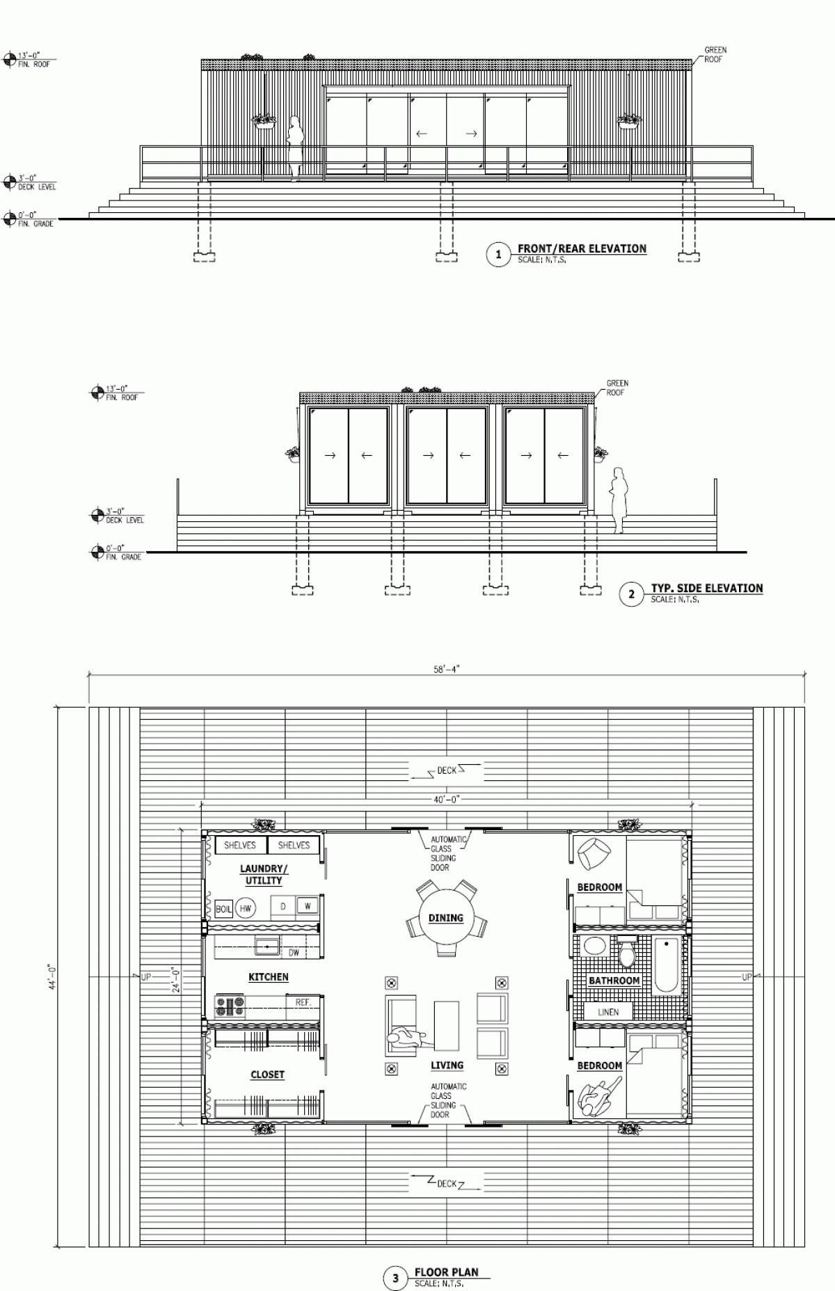 Shipping Container Architecture Plans House Design