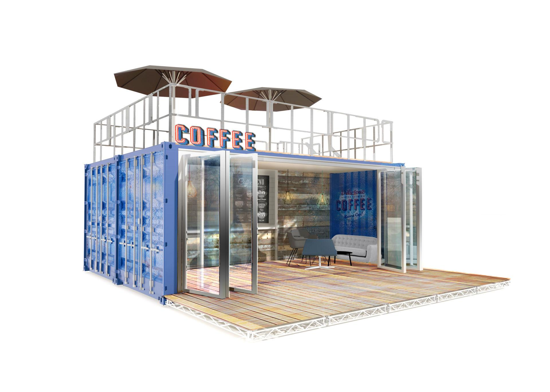 Shipping Container Coffee Shop Conversions Iso Spaces