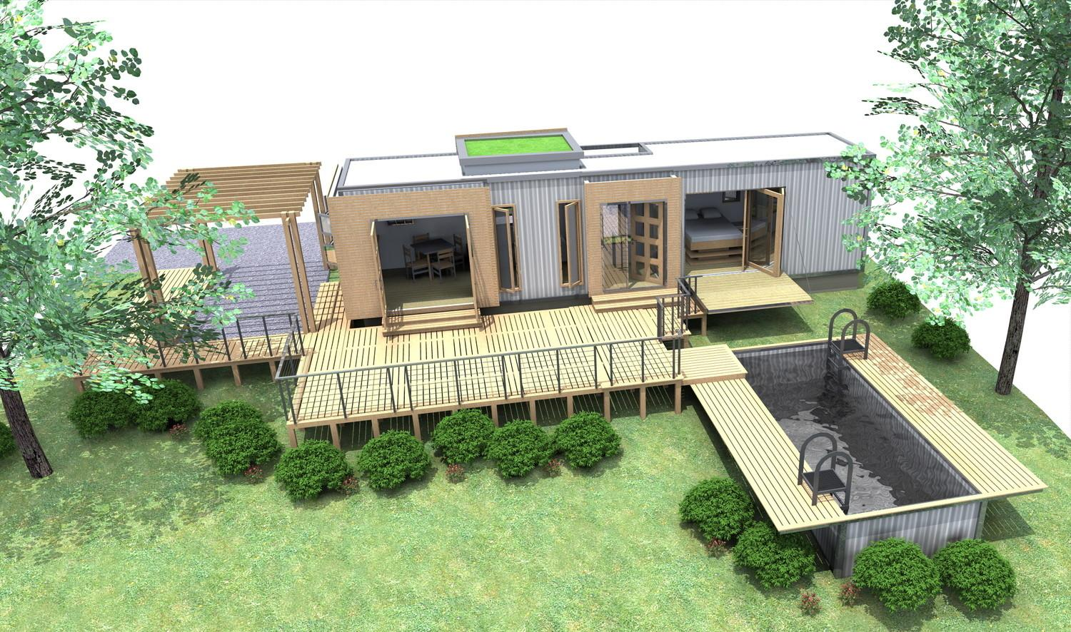 Shipping Container Homes 40ft Home
