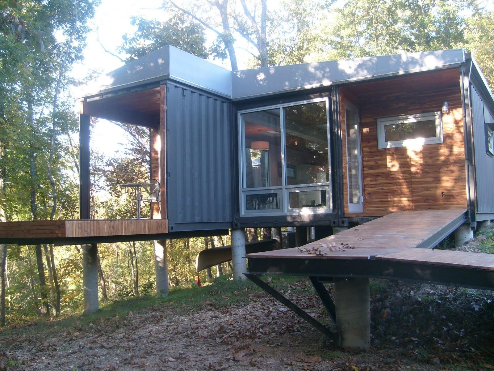 Shipping Container Homes 8747 House James River