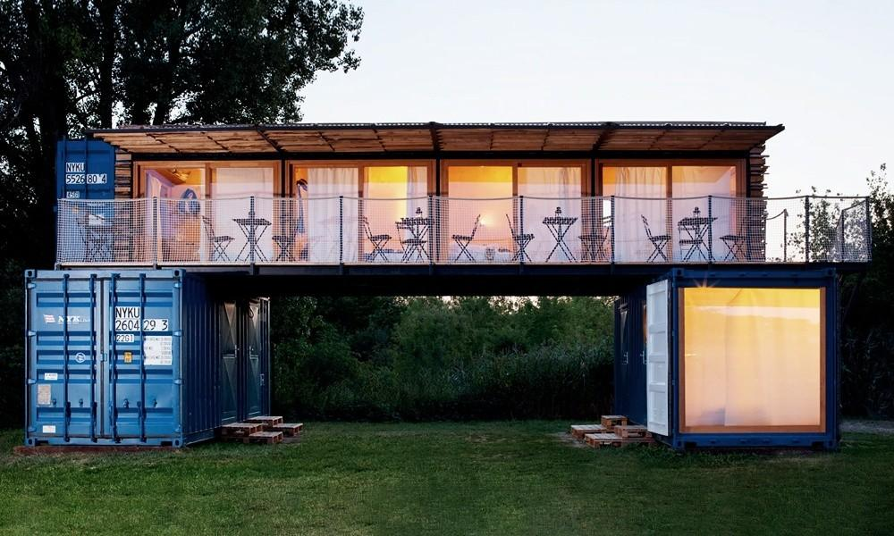 Shipping Container Hotel Cool Material