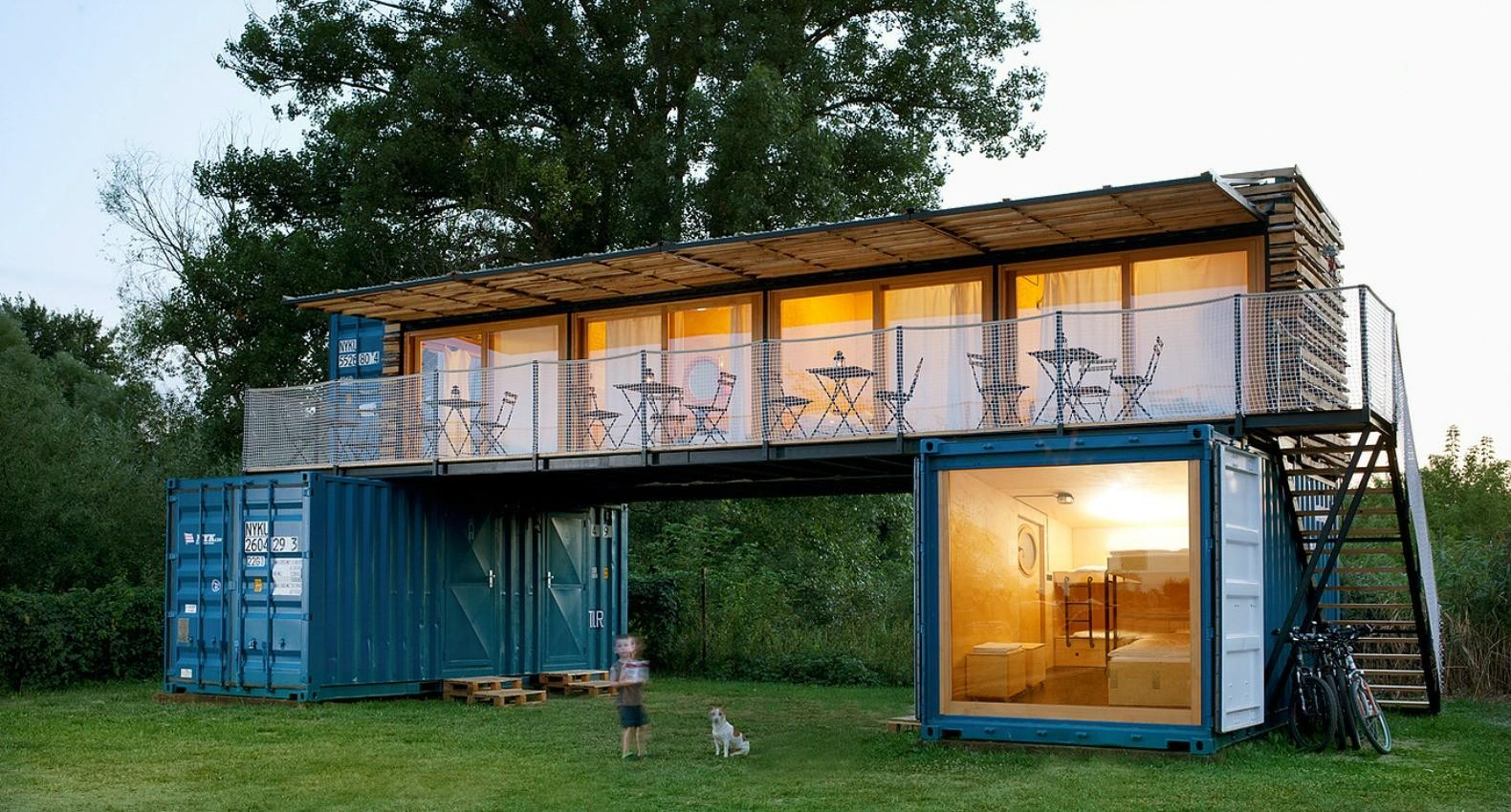 Shipping Container Hotel Inhabitat Green Design