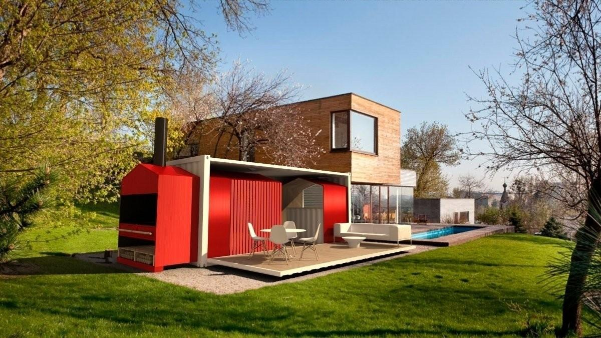 Shipping Container House Uneven