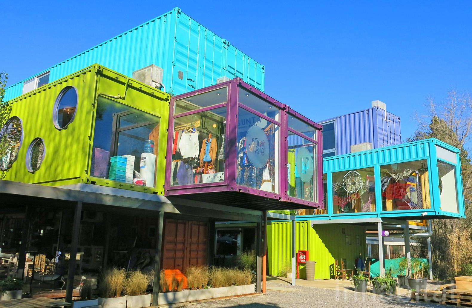 Shipping Container Mall Inhabitat Green Design