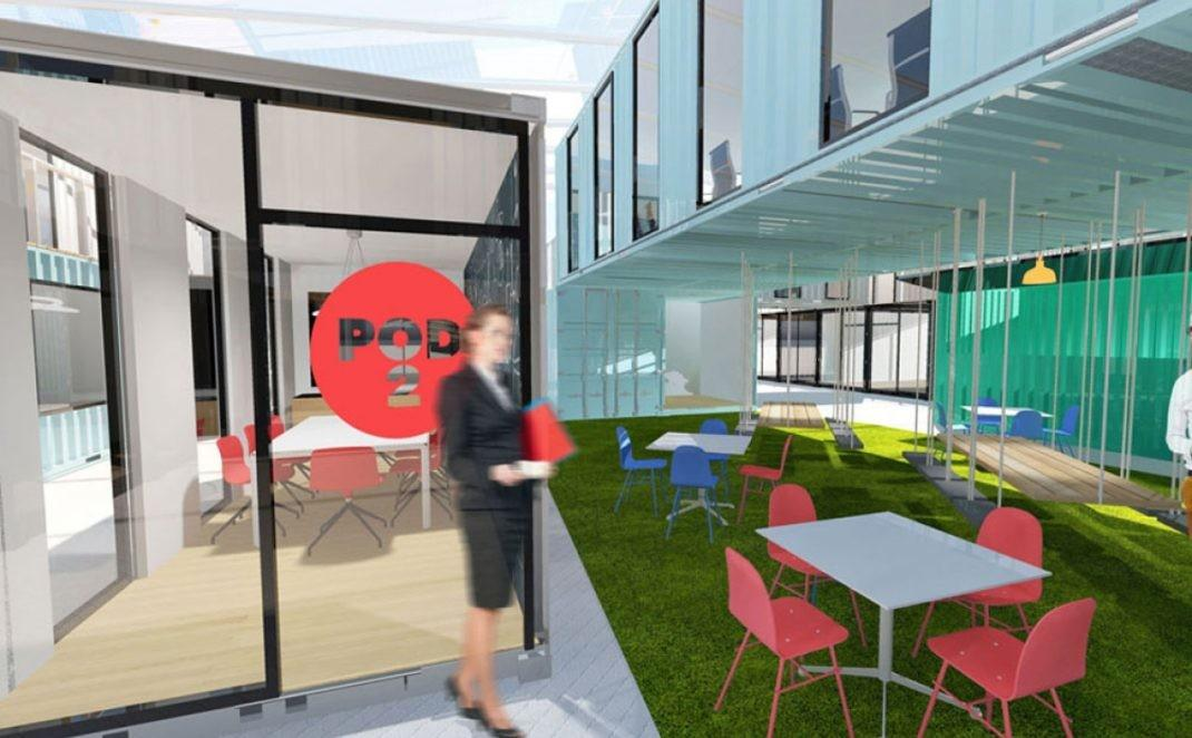 Shipping Container Office Conversions Iso Spaces