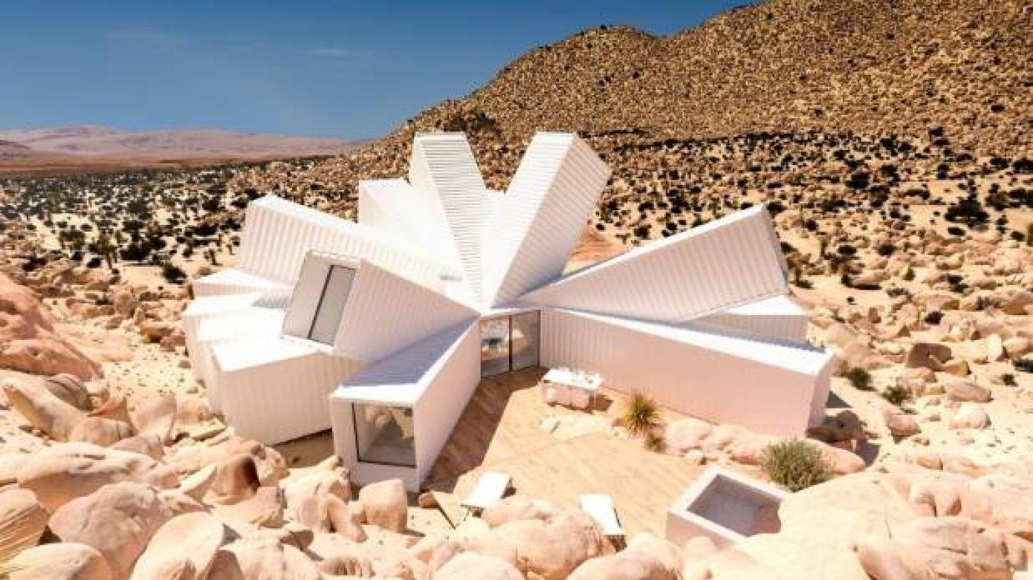 Shipping Containers Desert Plan