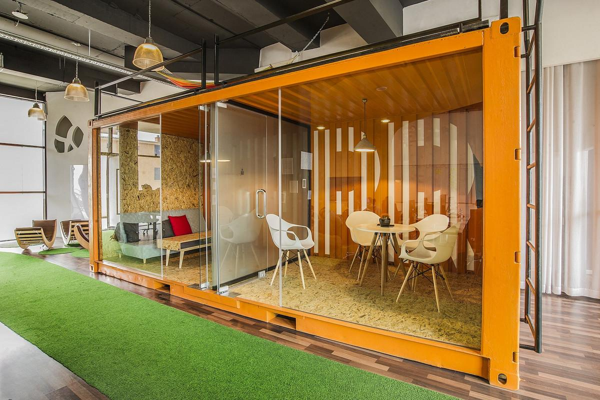 Shipping Containers Office Collection Snapshots