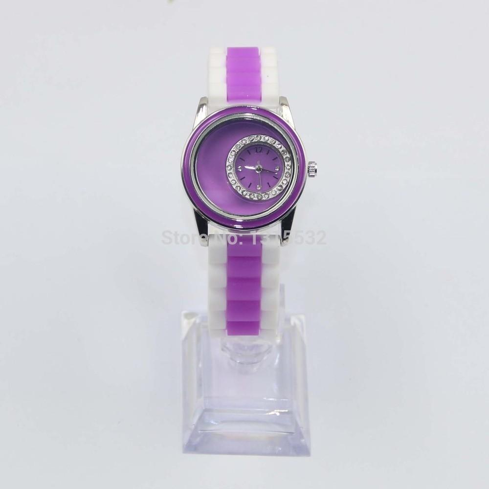 Shipping Diy Jewelry Watch Jelly Watches Purple