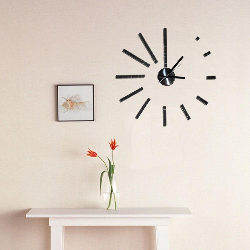 Shipping Fashion Wall Clock Eva Sticker Diy