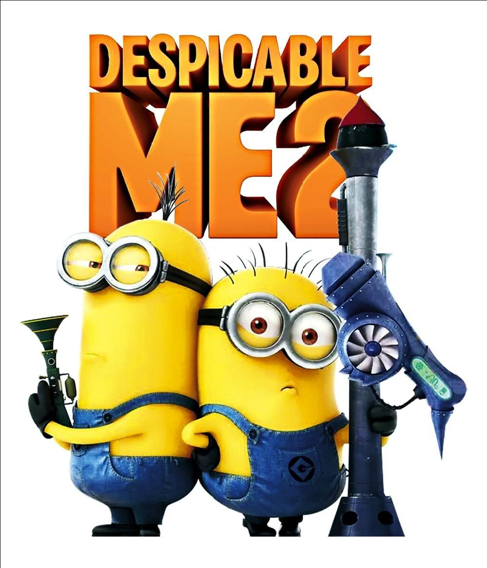 Shipping Hot Minions Despicable Wall Stickers