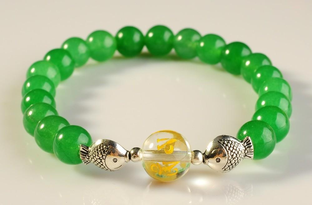 Shipping New Fashion Jewelry Bracelet Natural Green