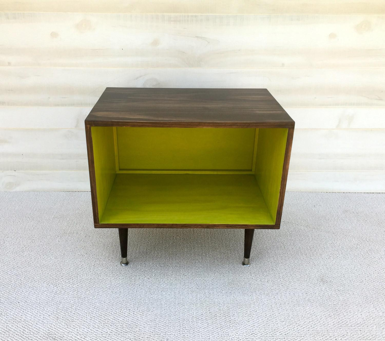 Shipping Wee Record Player Stand Mid Century