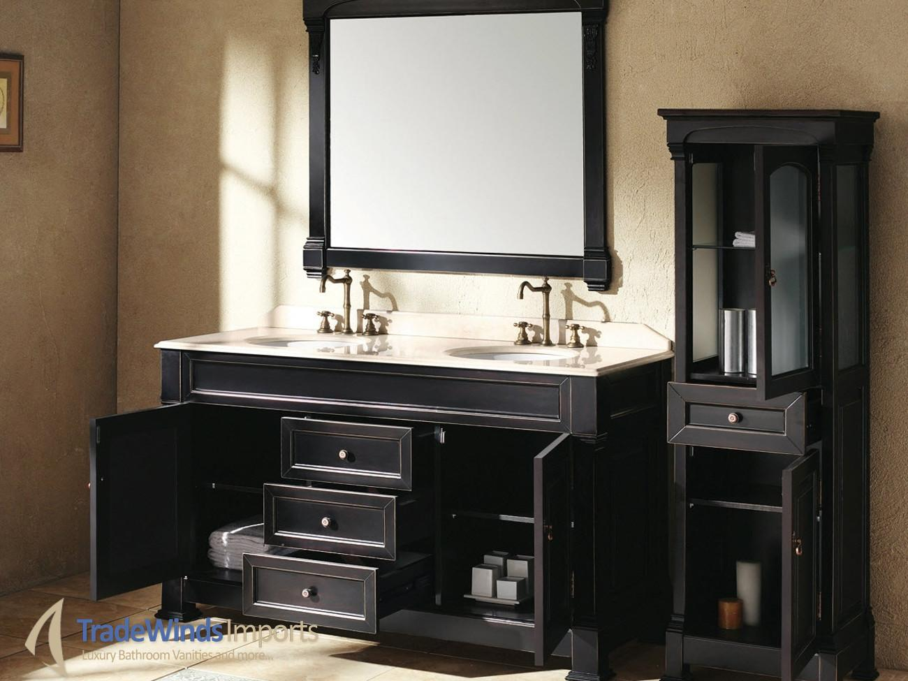 Shocking Facts Black Bathroom Cabinets Chinese
