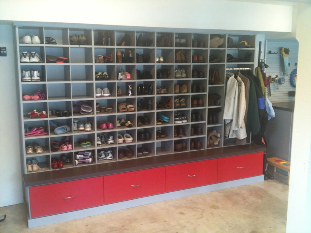 Shoe Rack Ideas Garage Decobizz