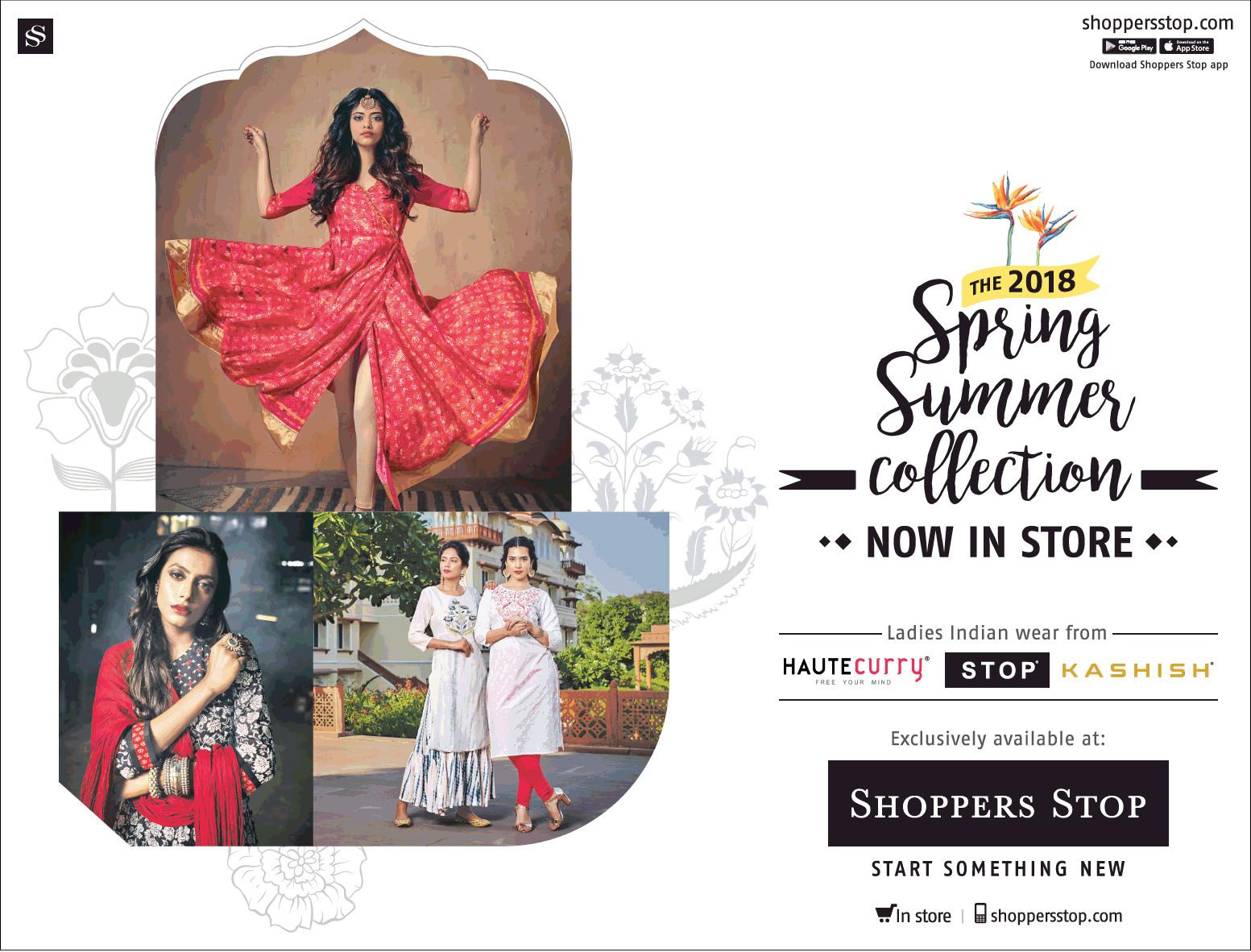 Shoppers Stop 2018 Spring Summer Collection Now