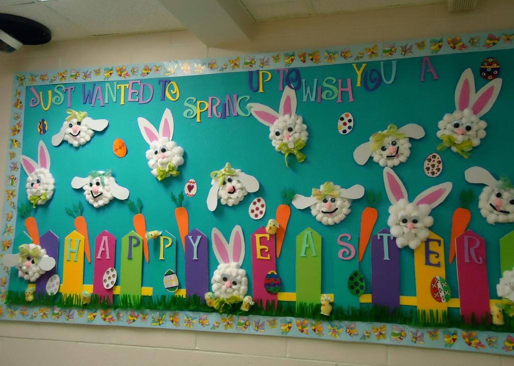 Show Tell Tuesday Spring Bulletin Boards Sunny