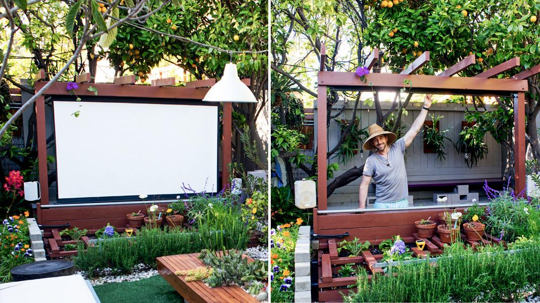 Show Thyme Build Outdoor Theater Your Garden