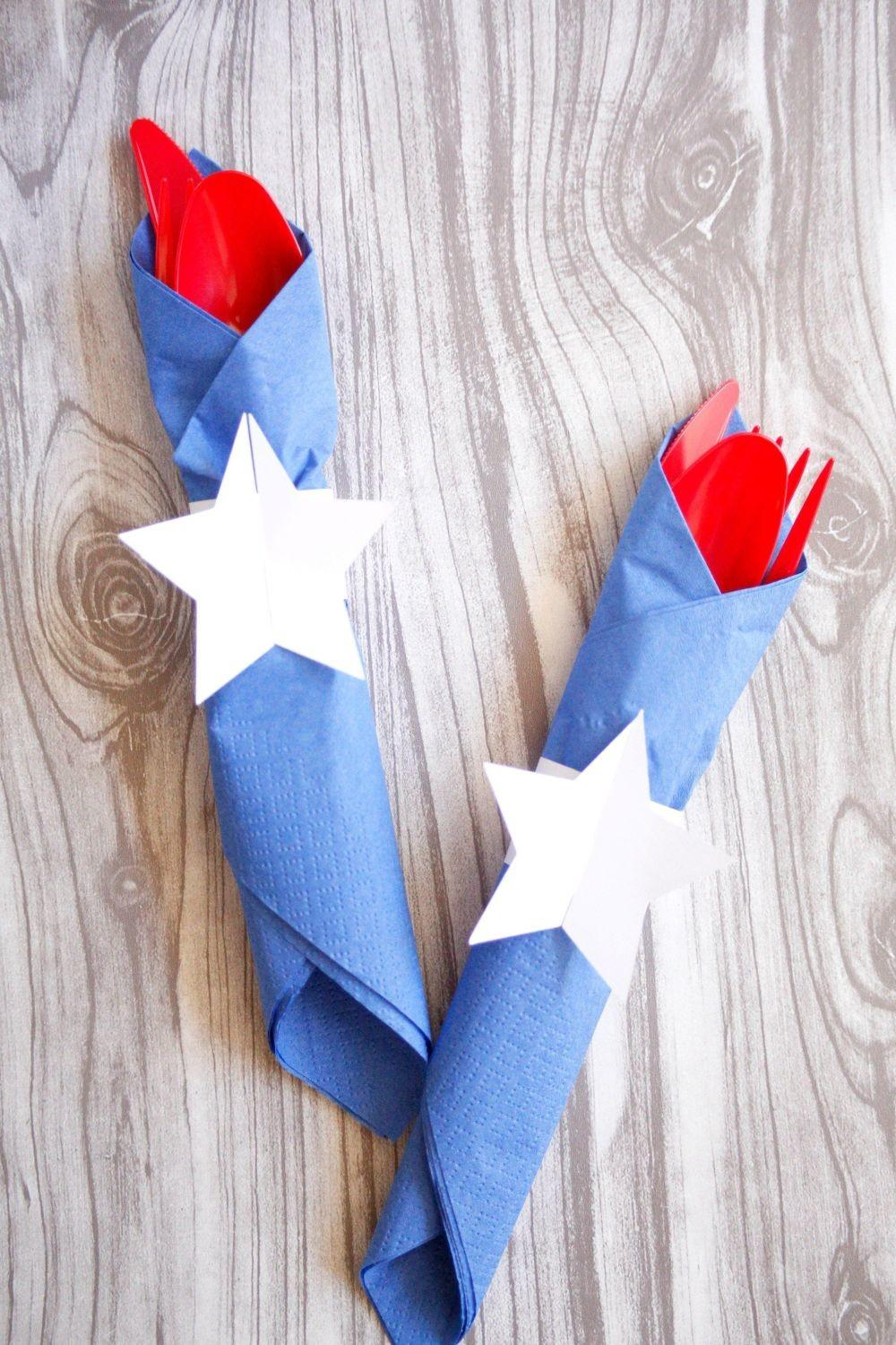 Show Your American Spirit Diy 4th July Crafts