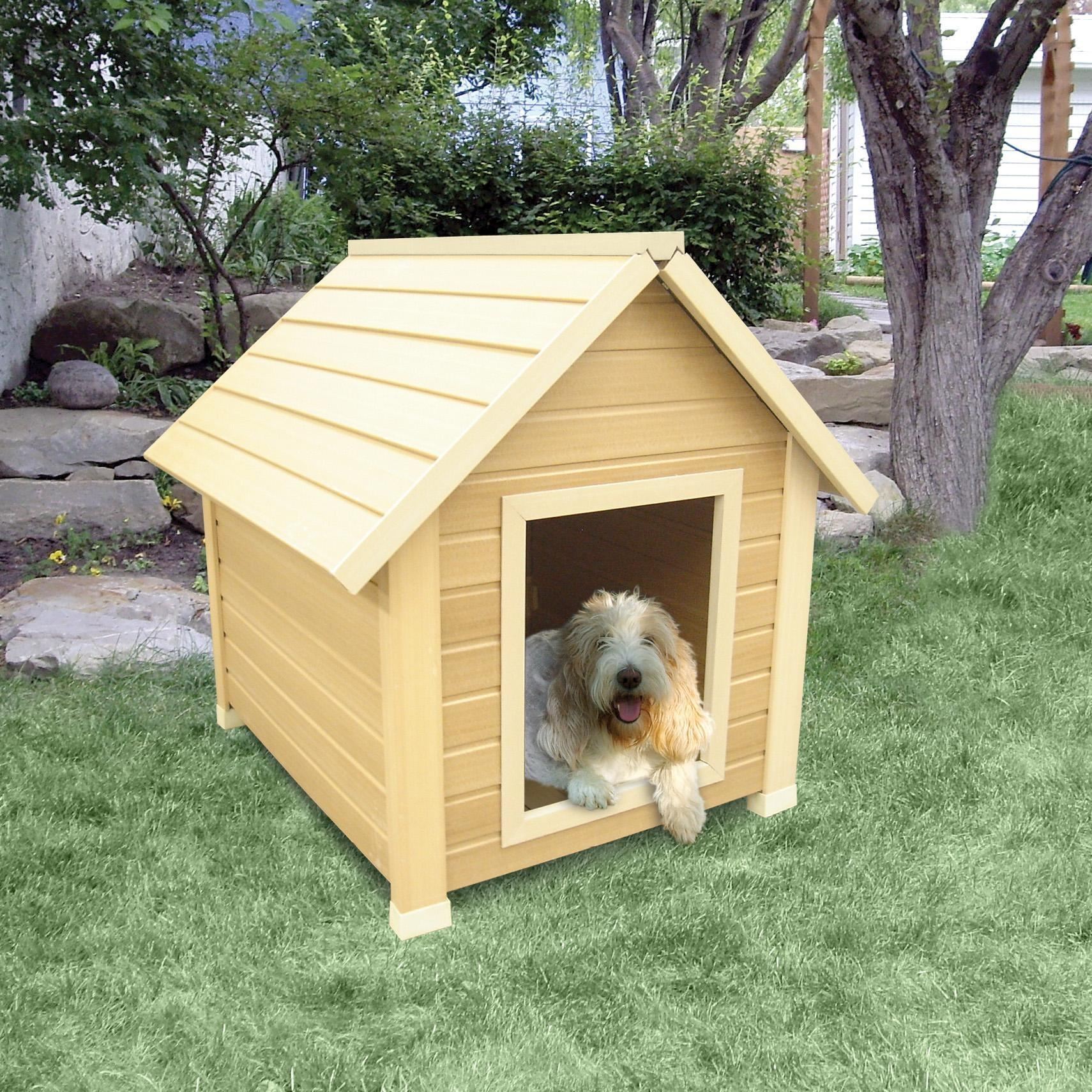 Show Your Dog Some Love Buy Him Warm Wooden House