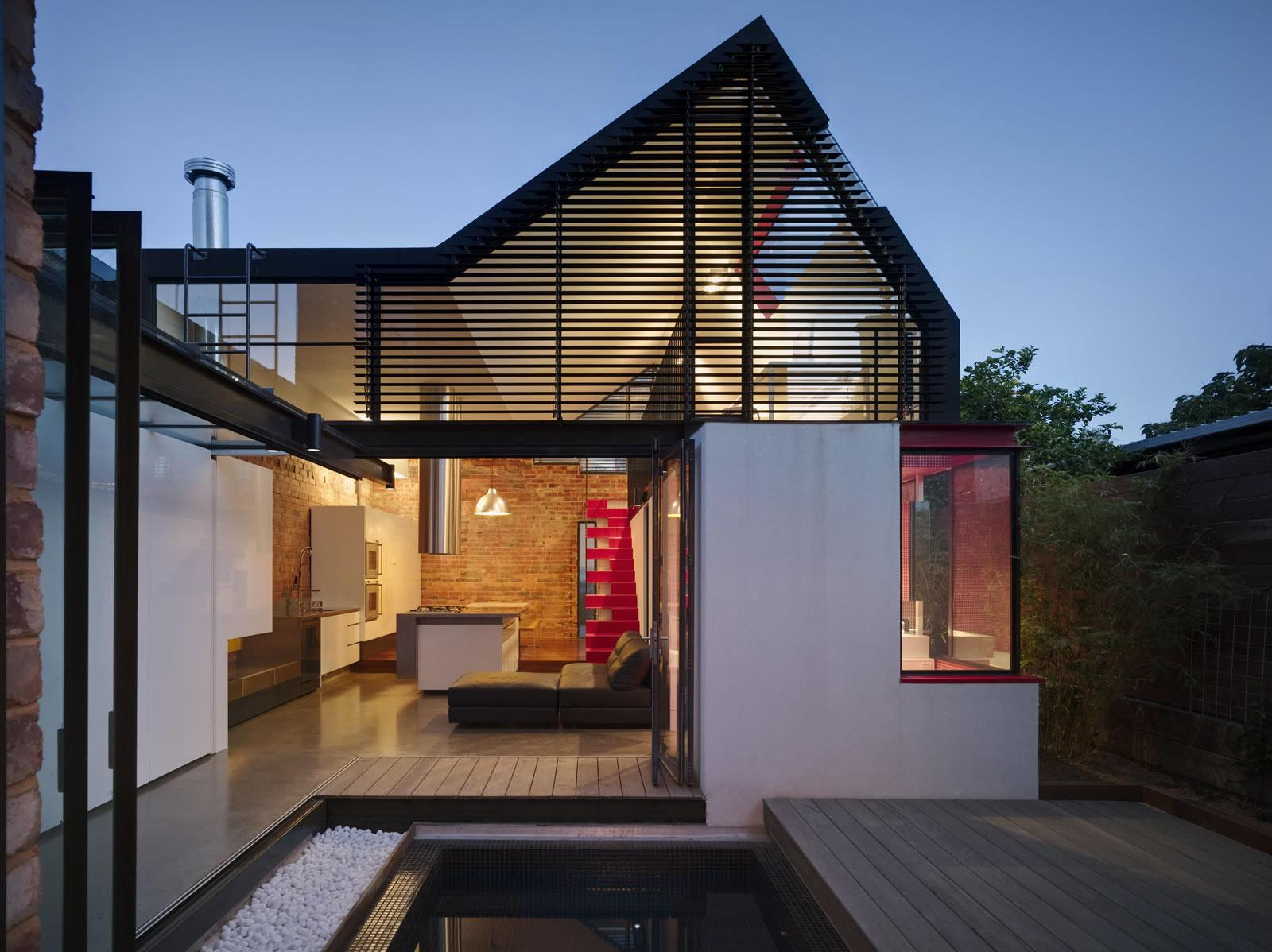 Showcase Vader House Features Archinect