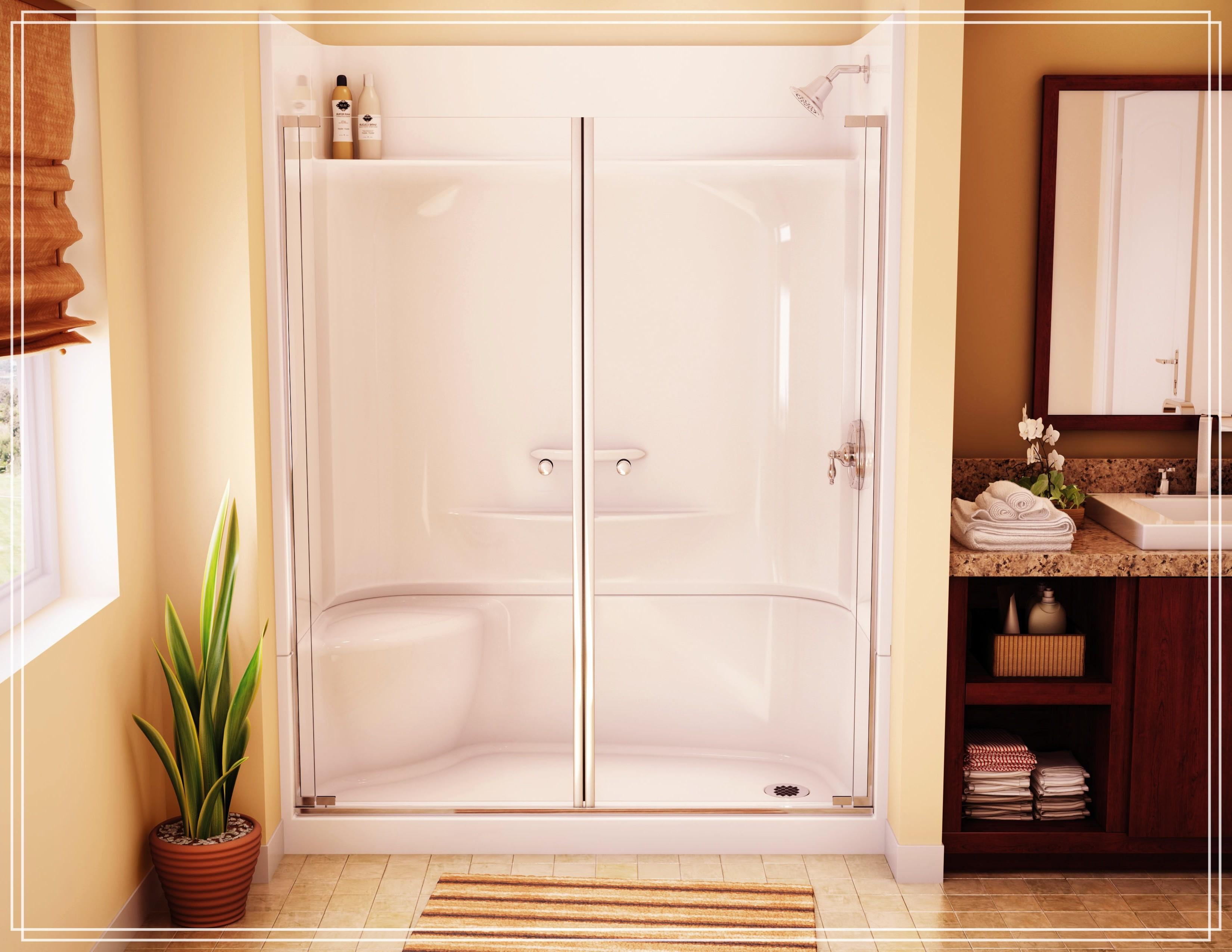 Shower Stall Kits Excellent Enigma Enclosure