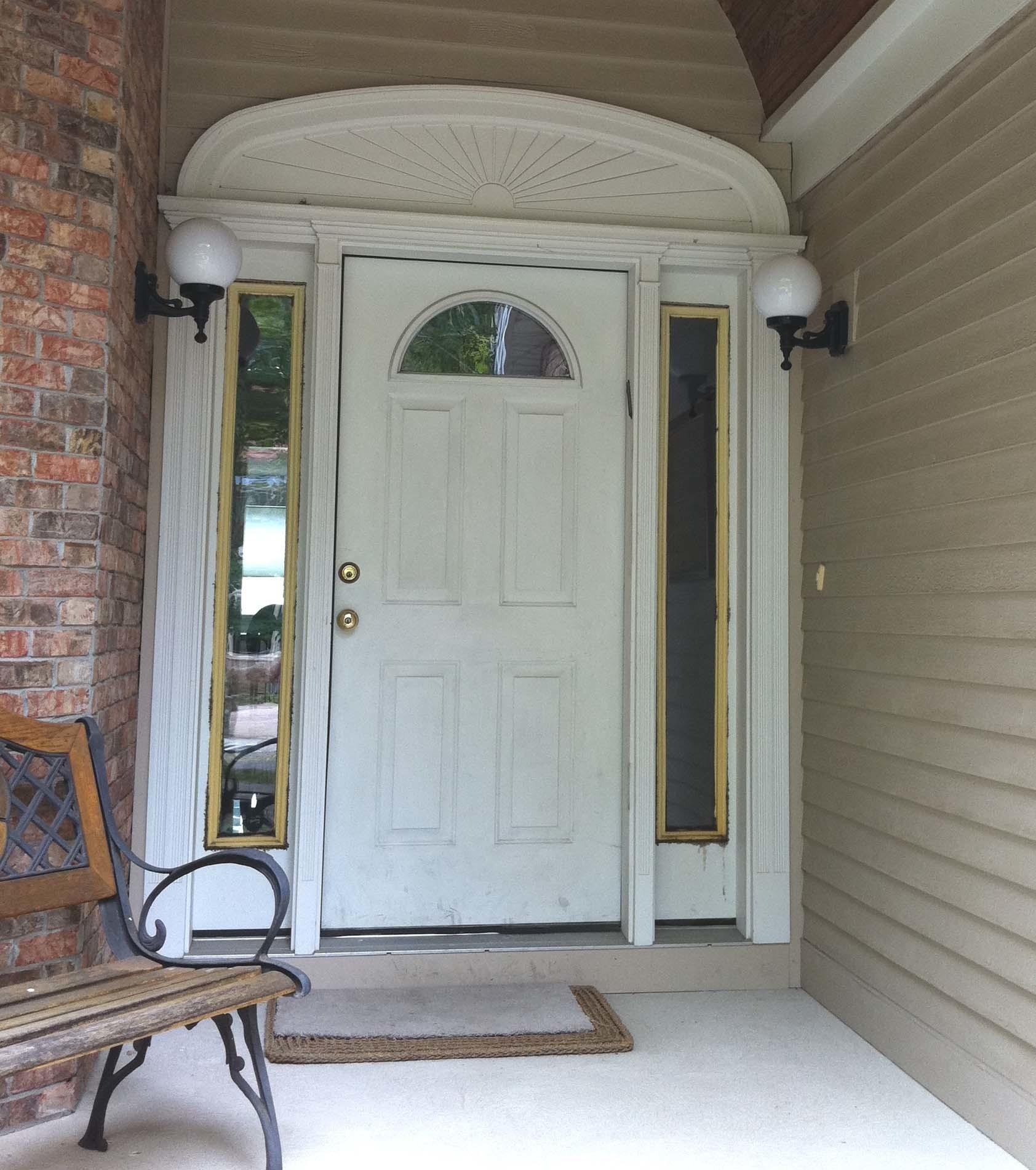 Sidelight Door Protected Non Impact Front